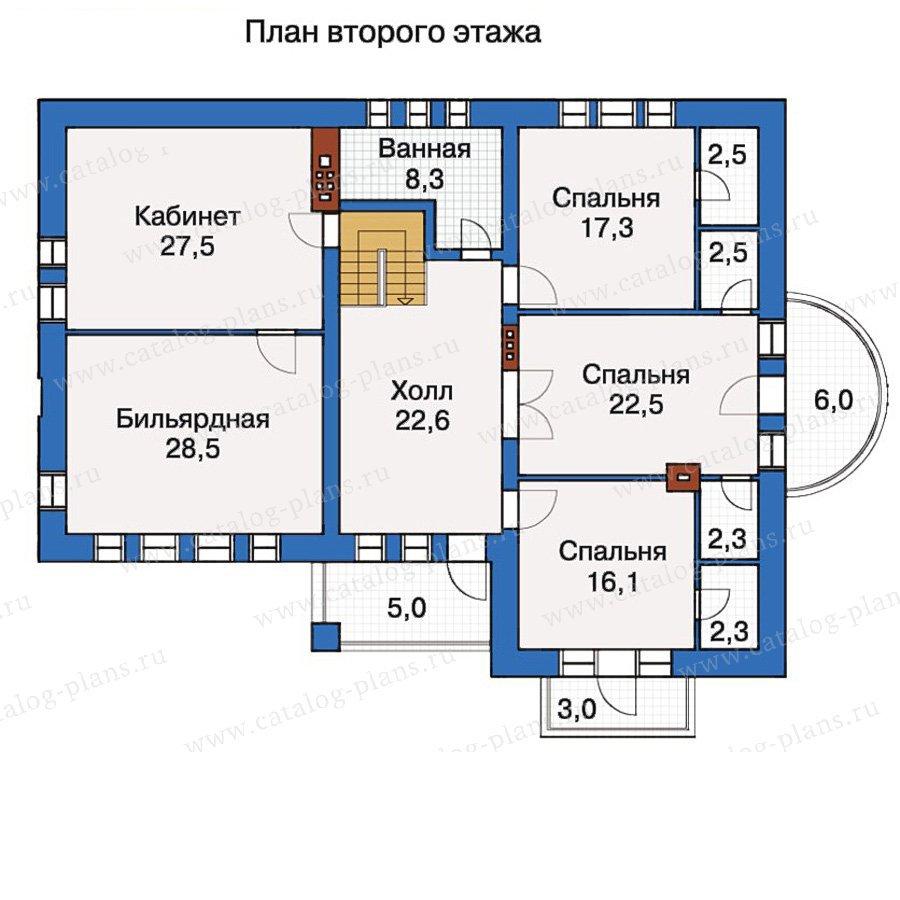 План 3-этажа проекта 30-53