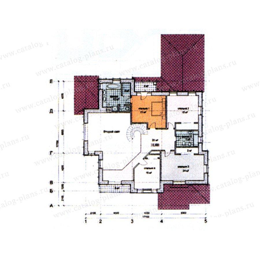 План 3-этажа проекта 31-09