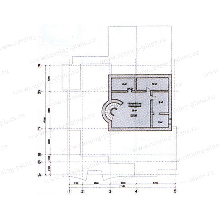 План 1-этажа проекта 31-09