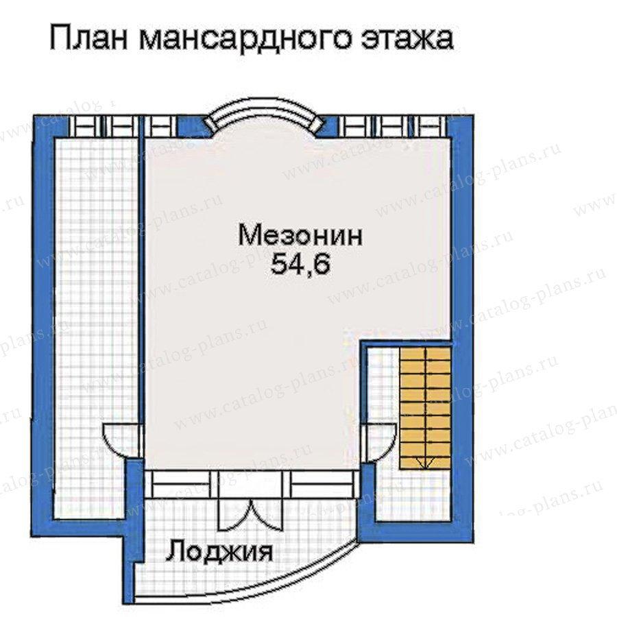 План 3-этажа проекта 31-28