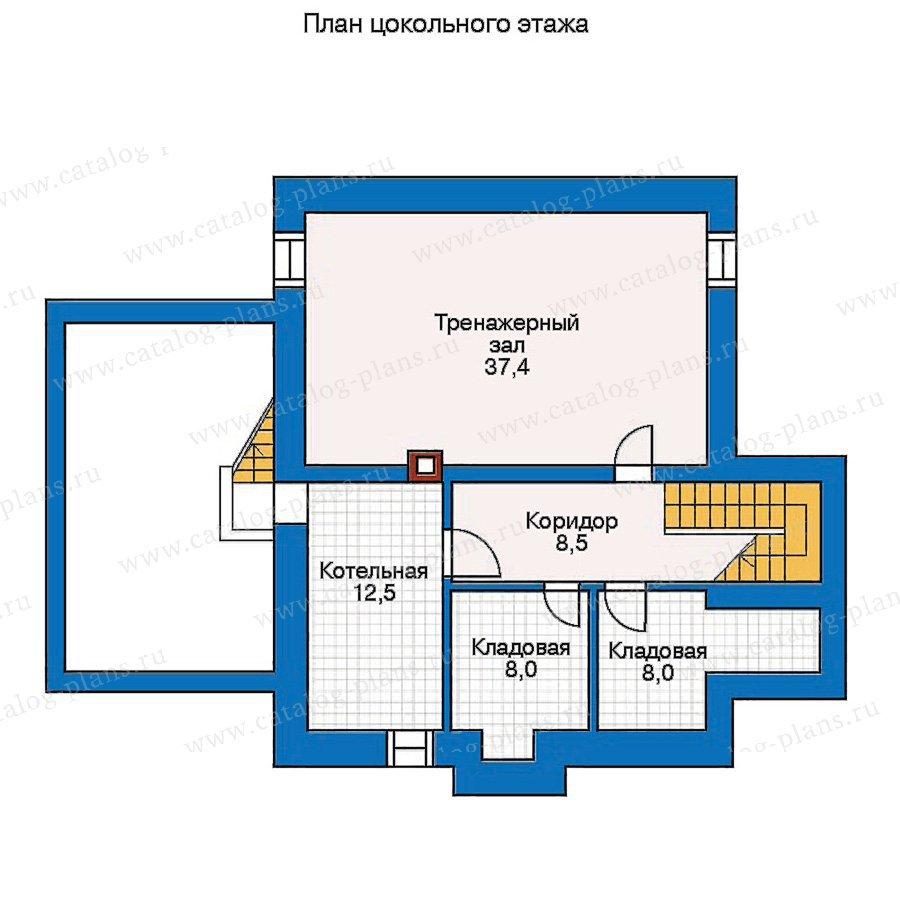 План 1-этажа проекта 30-42