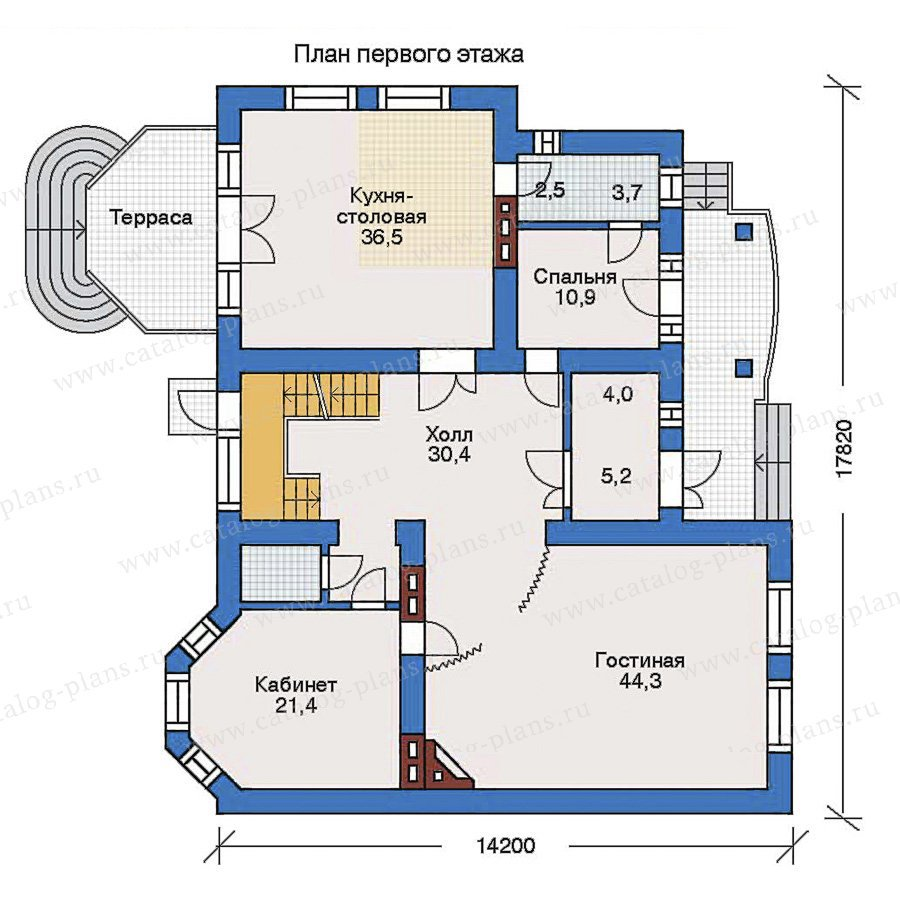 План 2-этажа проекта 31-61