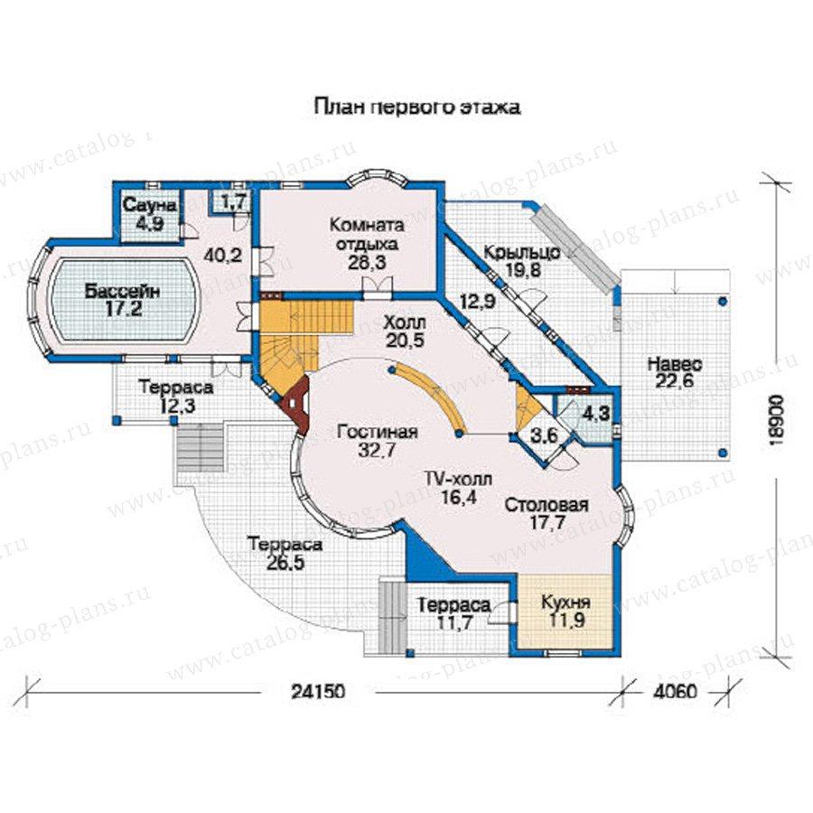План 2-этажа проекта 31-23