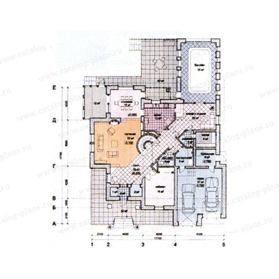 План 2-этажа проекта 31-09