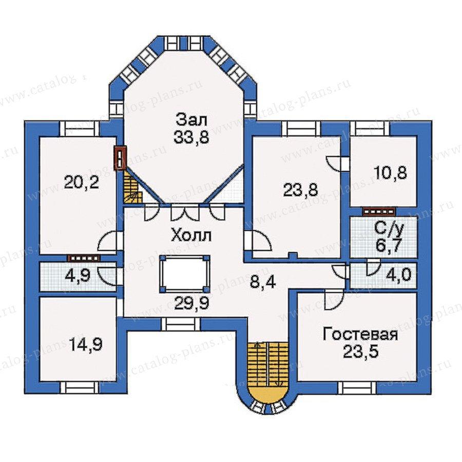 План 4-этажа проекта 31-37