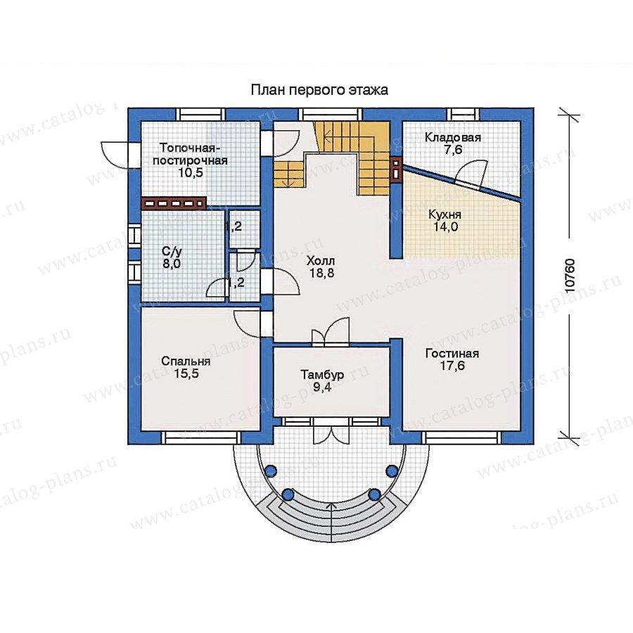 План 1-этажа проекта 31-80