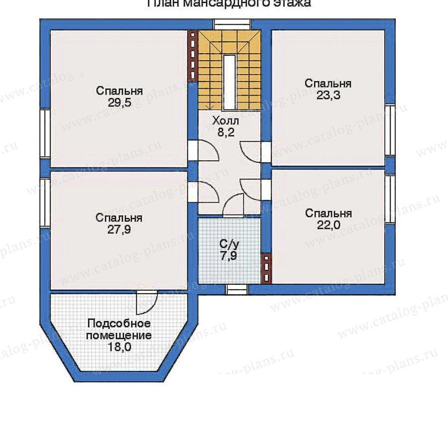 План 3-этажа проекта 31-71