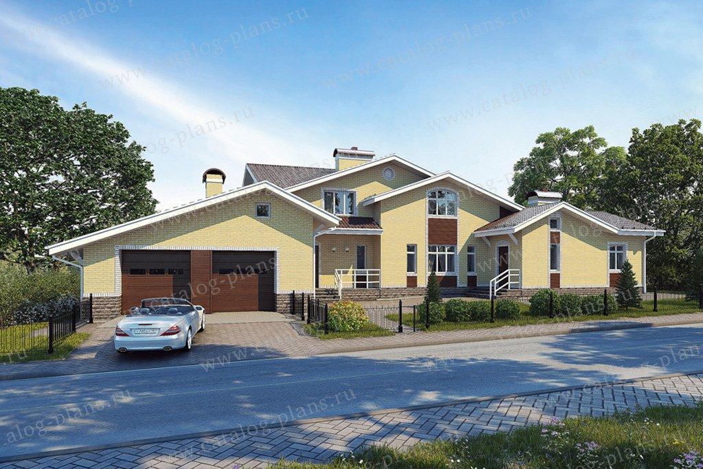 Проект жилой дом #31-38 материал - кирпич, стиль современный