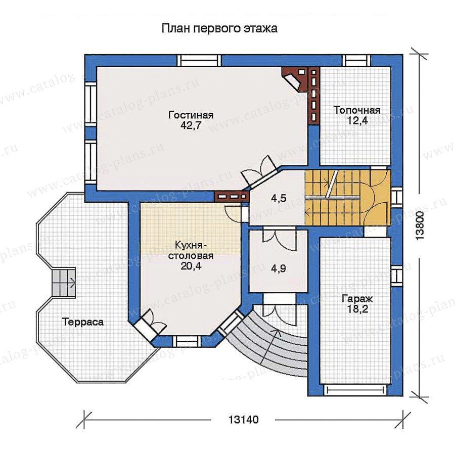 План 2-этажа проекта 31-81