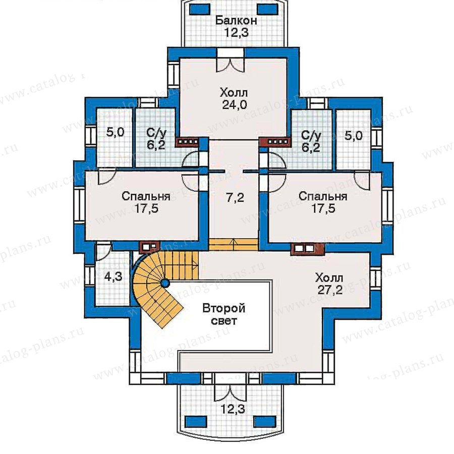 План 3-этажа проекта 30-51