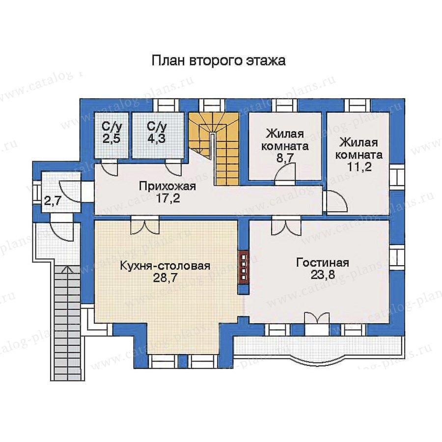 План 2-этажа проекта 31-03