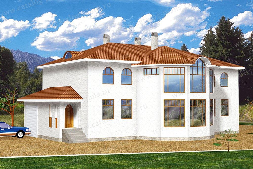Проект жилой дом #30-49 материал - кирпич, стиль модерн
