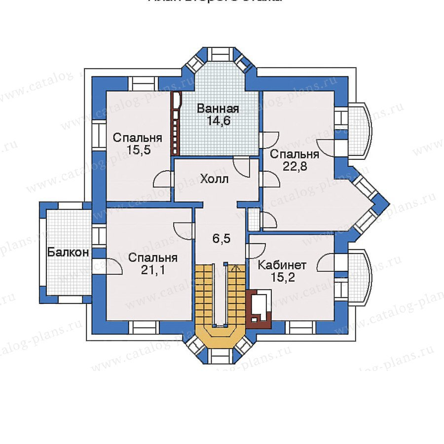 План 3-этажа проекта 31-00