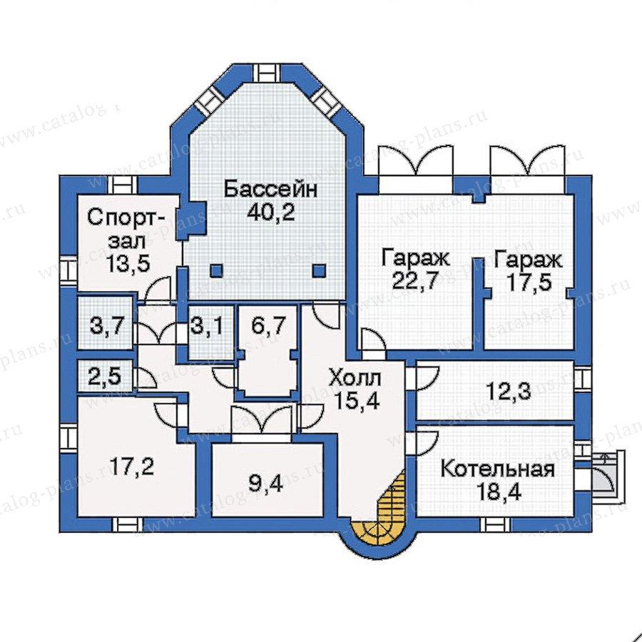 План 1-этажа проекта 31-37