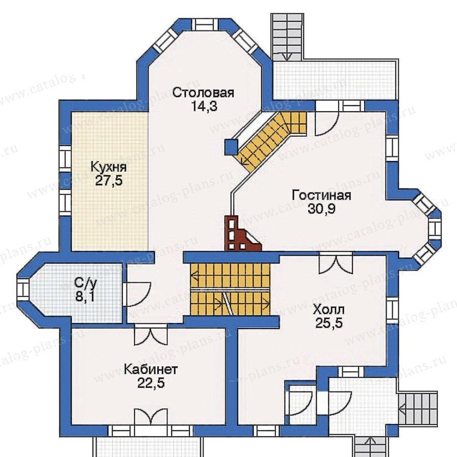 План 2-этажа проекта 31-97