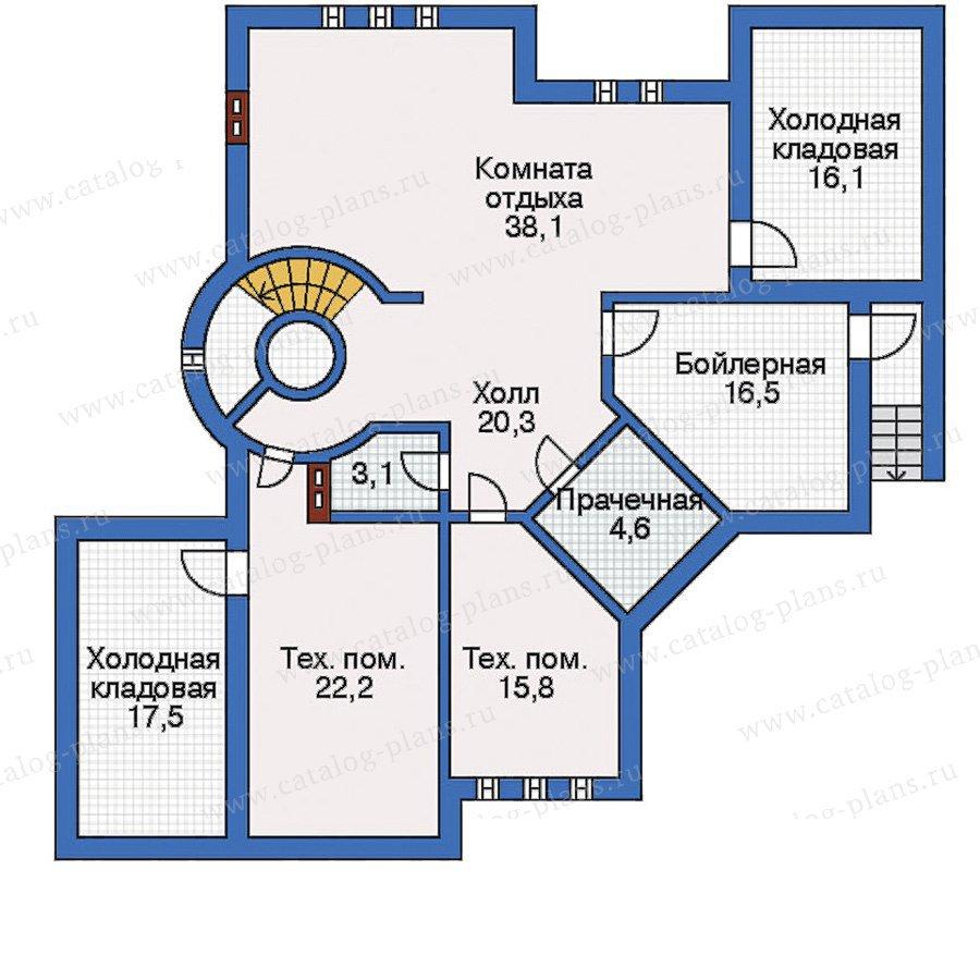 План 1-этажа проекта 31-15