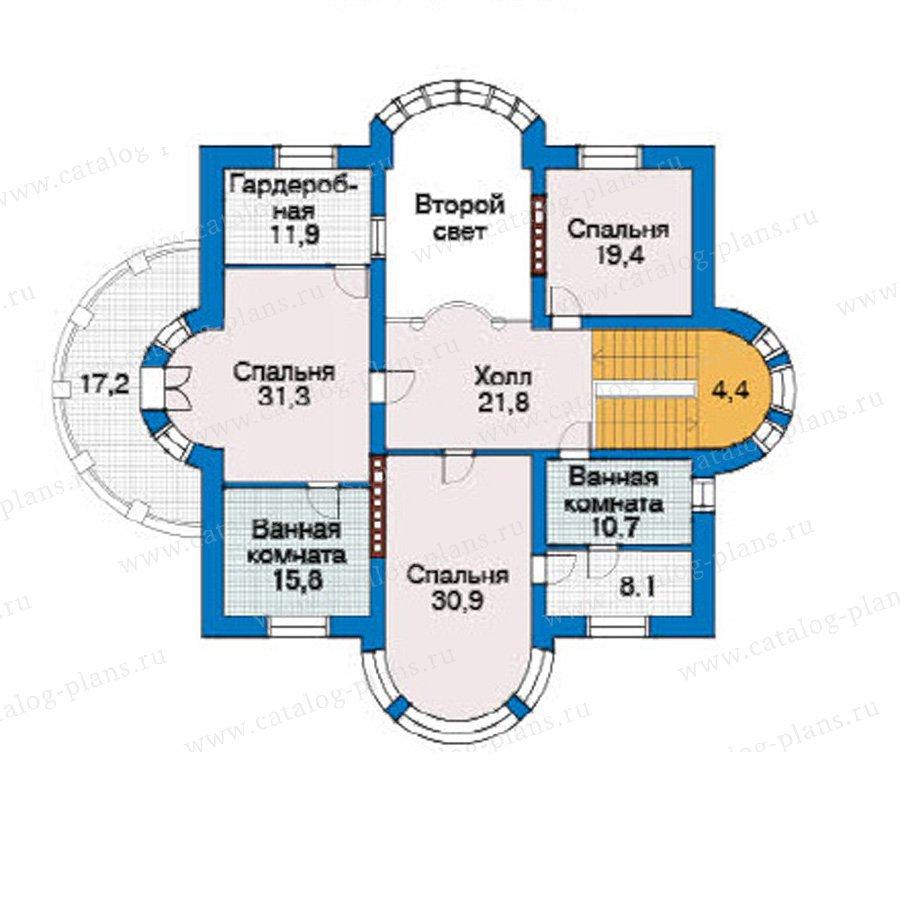 План 3-этажа проекта 31-24