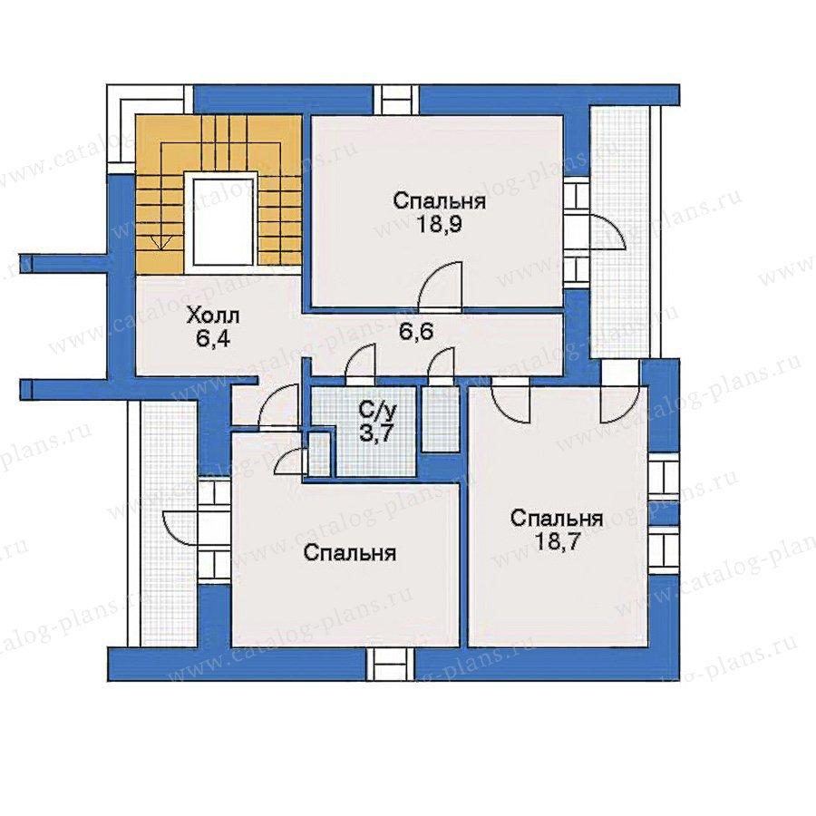 План 3-этажа проекта 31-32