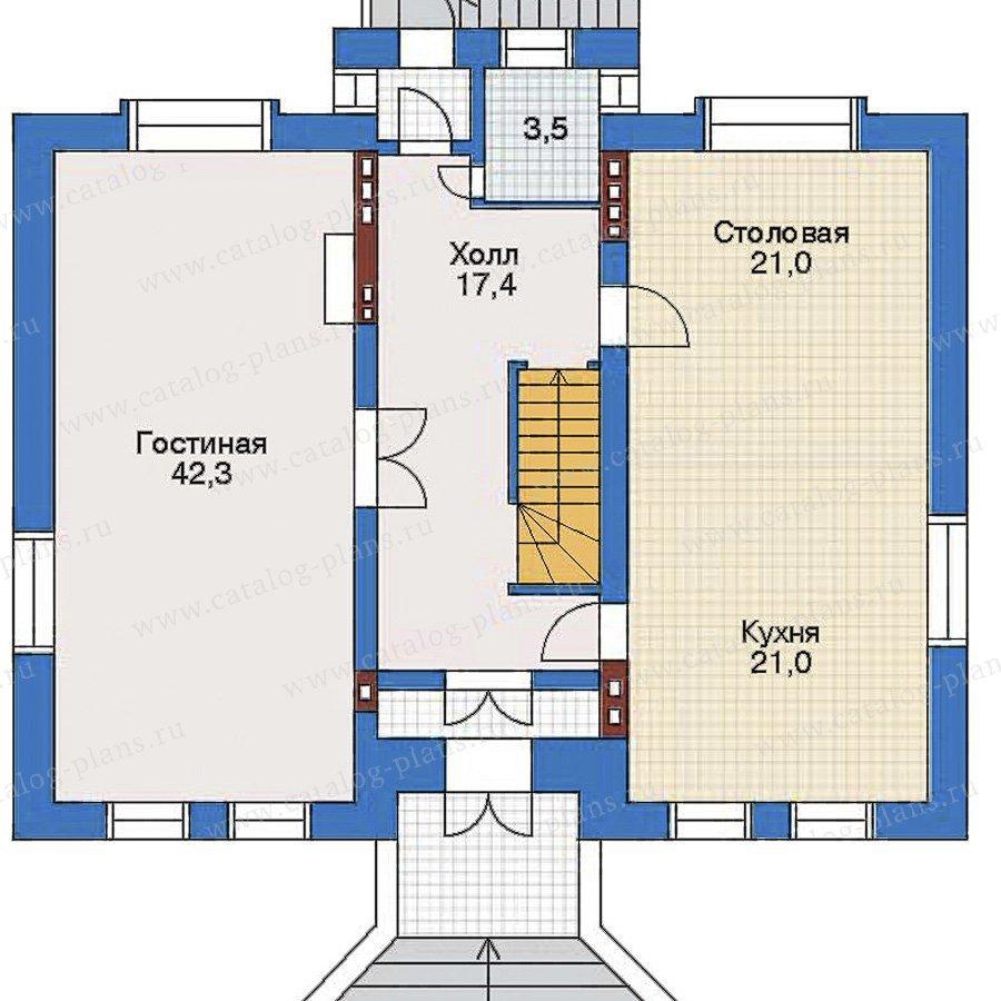 План 2-этажа проекта 32-36