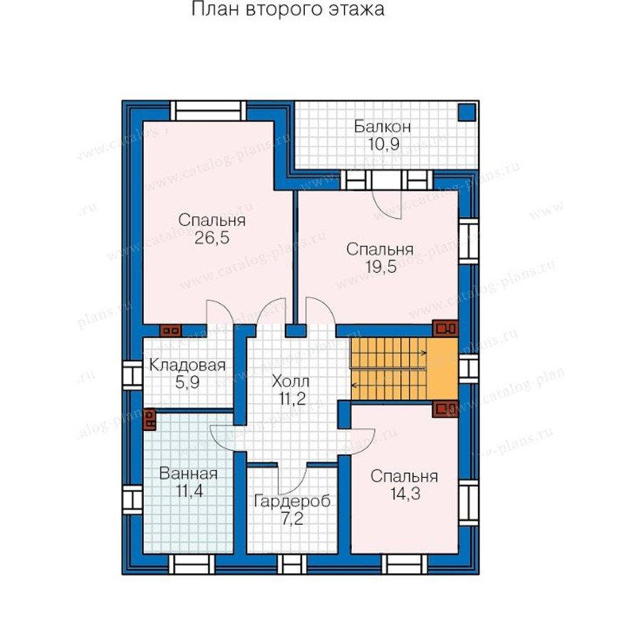 План 3-этажа проекта 40-24G