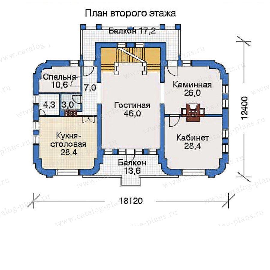 План 3-этажа проекта 32-34