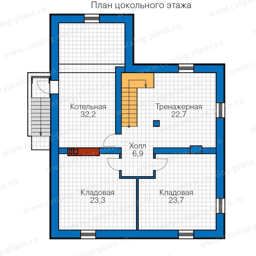План 1-этажа проекта 40-20G