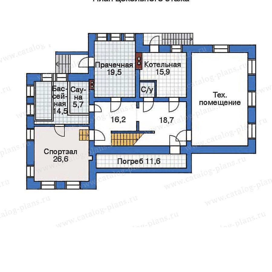 План 1-этажа проекта 32-33