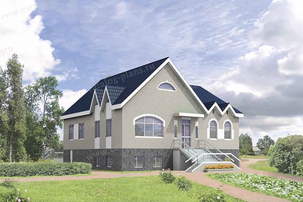 Проект жилой дом #32-38 материал - кирпич, стиль европейский