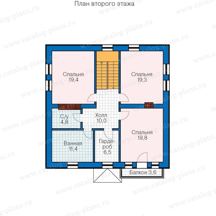 План 3-этажа проекта 40-20G