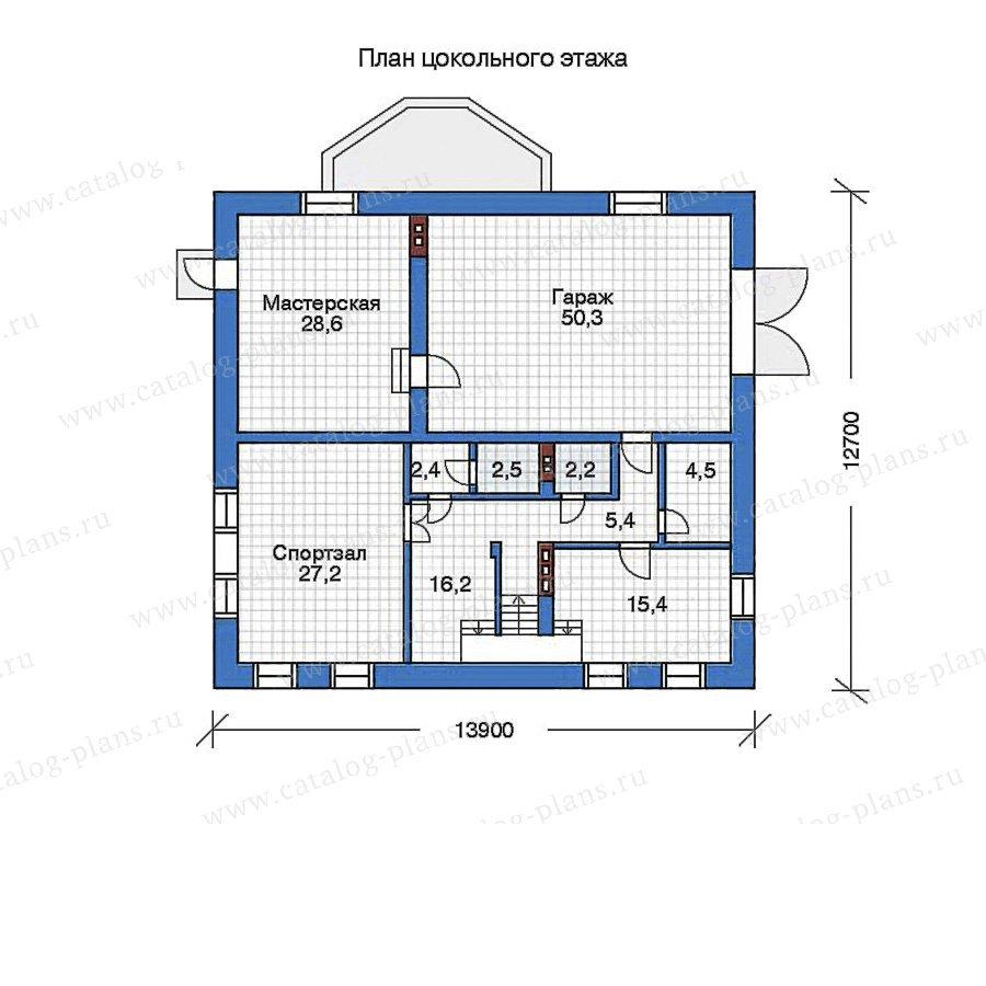 План 1-этажа проекта 32-38