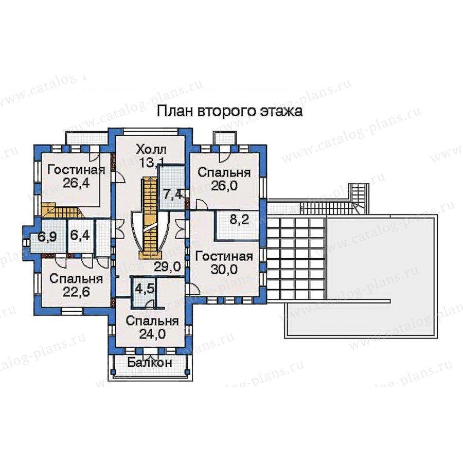 План 3-этажа проекта 32-46
