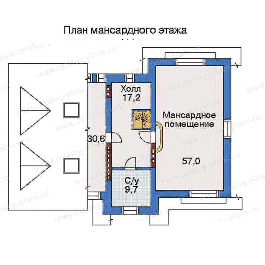 План 4-этажа проекта 32-81