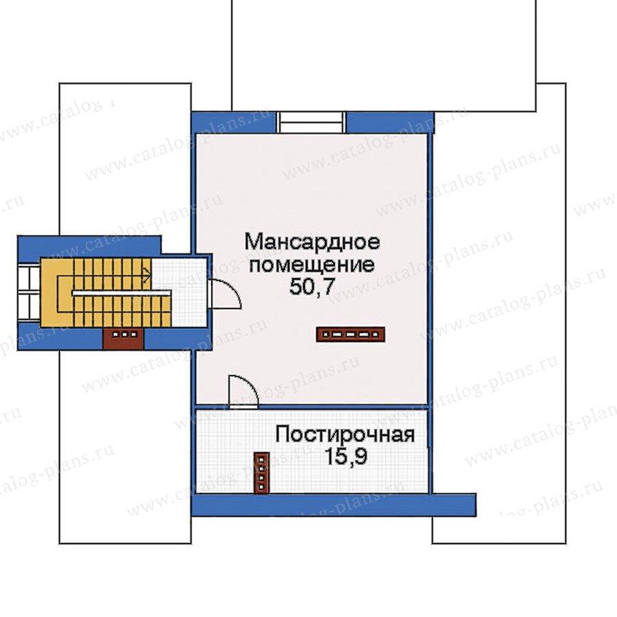 План 4-этажа проекта 32-90