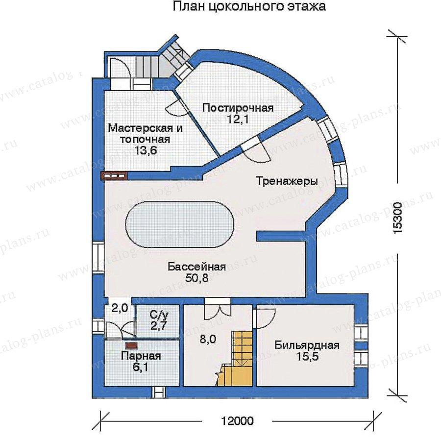 План 1-этажа проекта 32-64