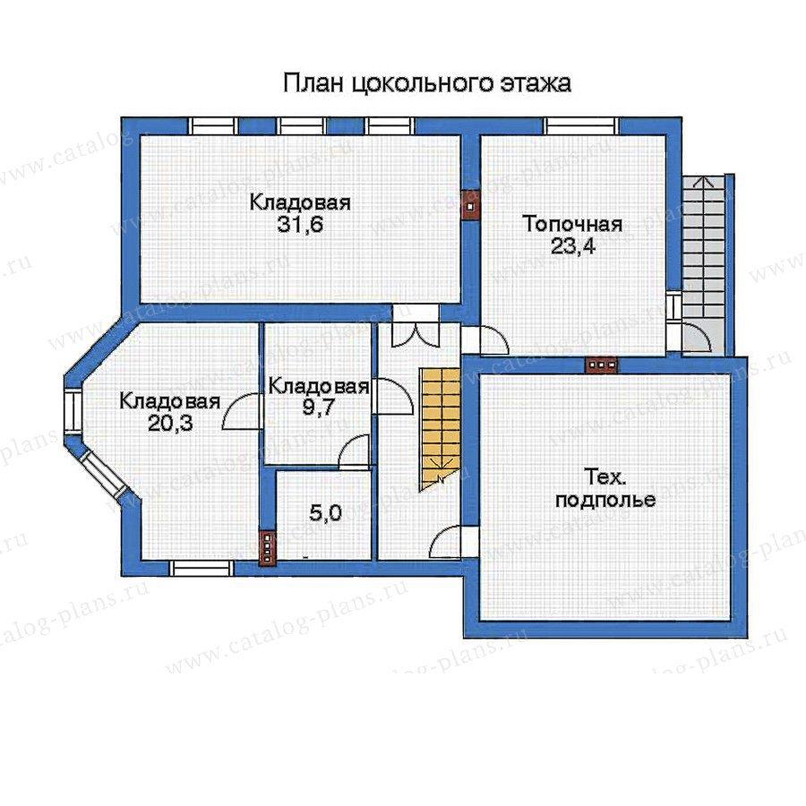 План 1-этажа проекта 32-82