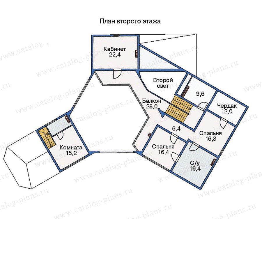 План 2-этажа проекта 11-26