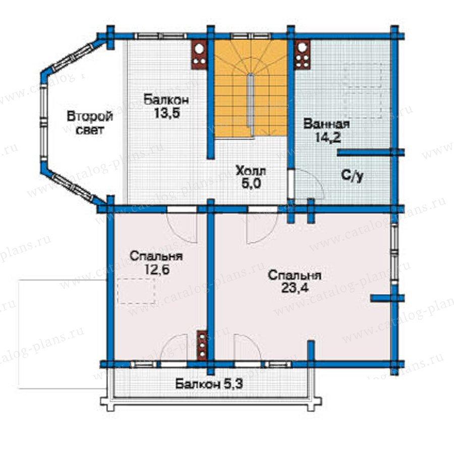 План 3-этажа проекта 11-72