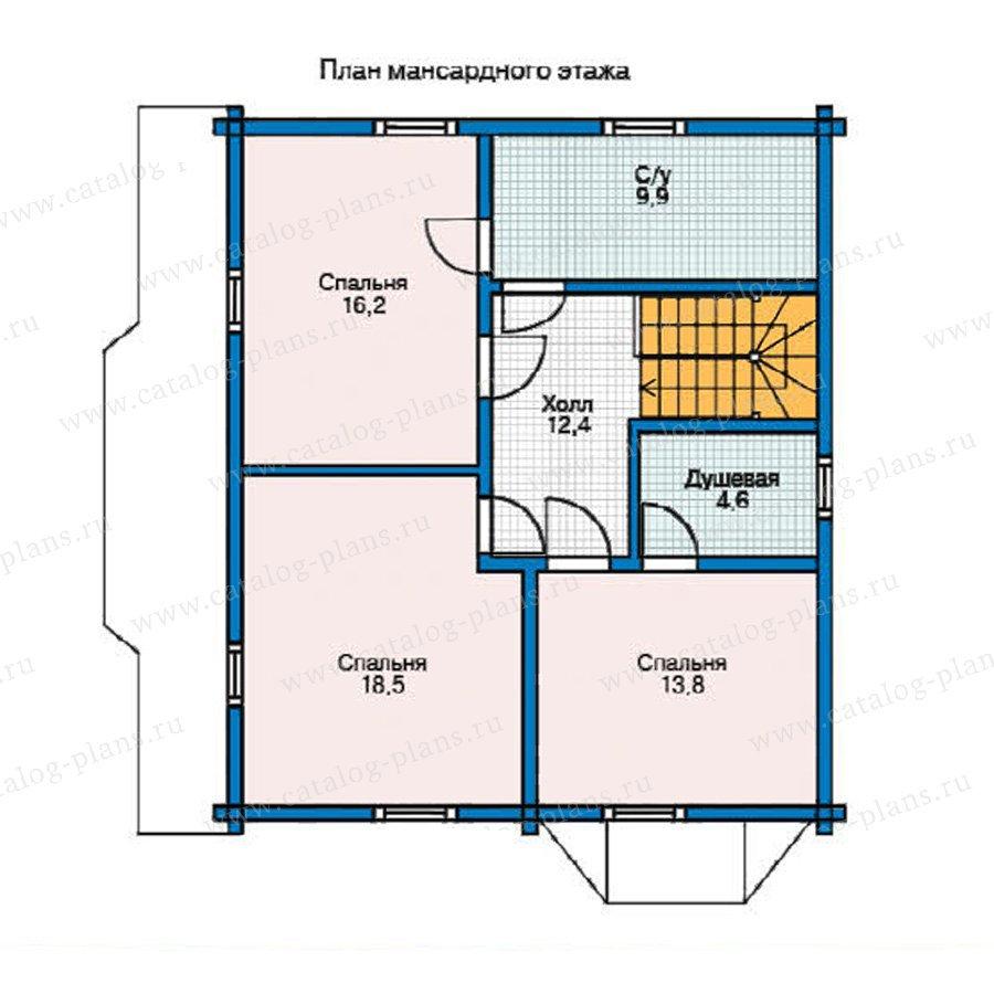 План 2-этажа проекта 11-35
