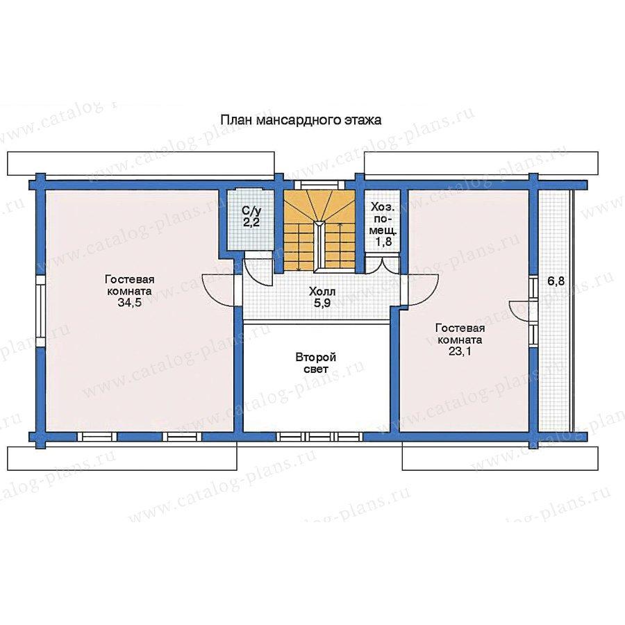 План 2-этажа проекта 11-20