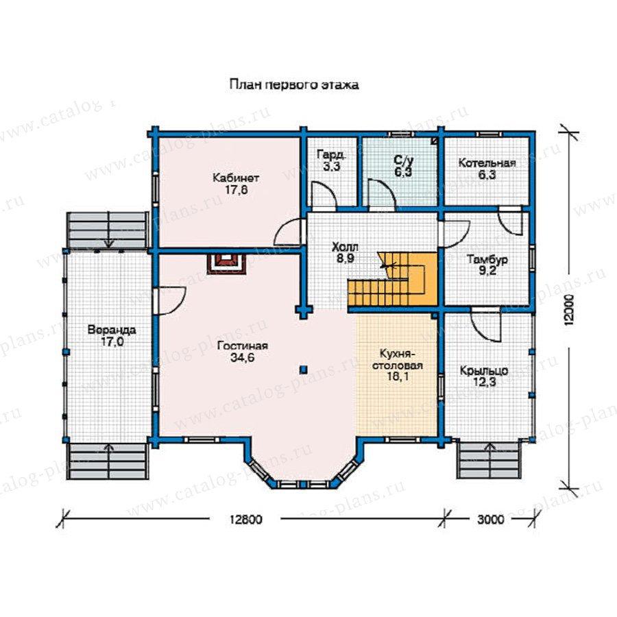План 1-этажа проекта 11-36