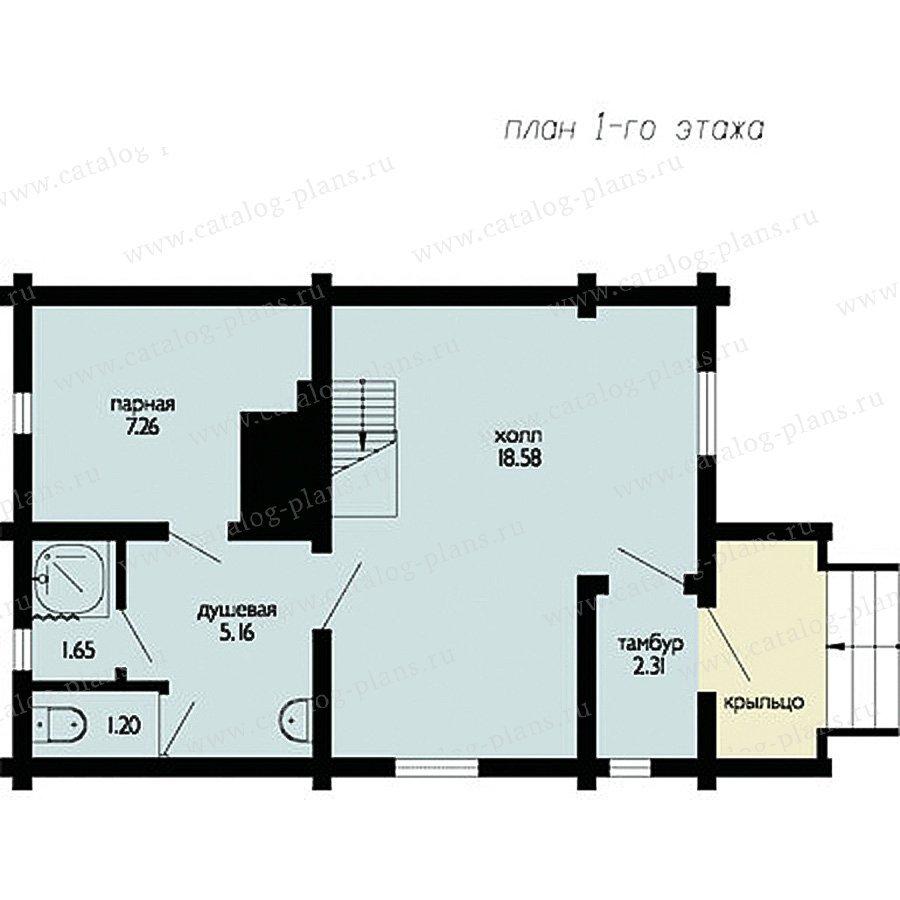План 1-этажа проекта 11-29