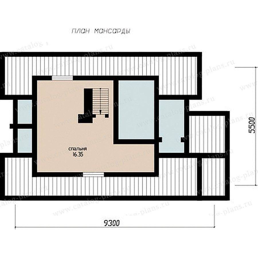 План 2-этажа проекта 11-29
