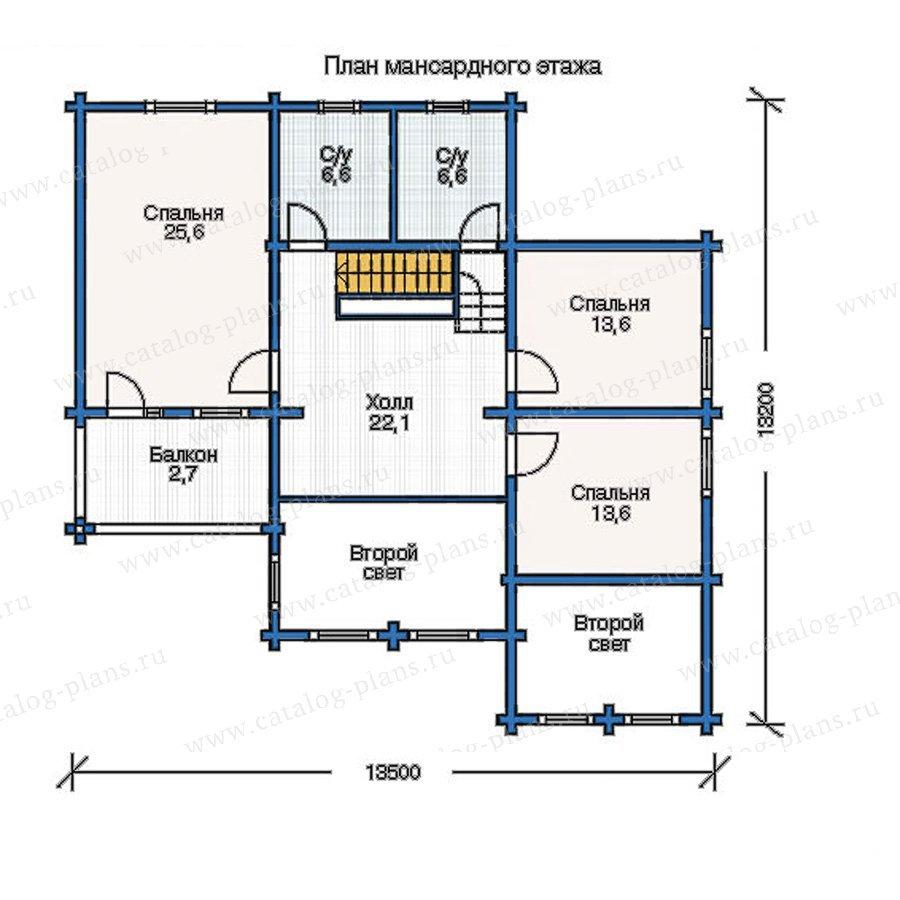 План 2-этажа проекта 11-37