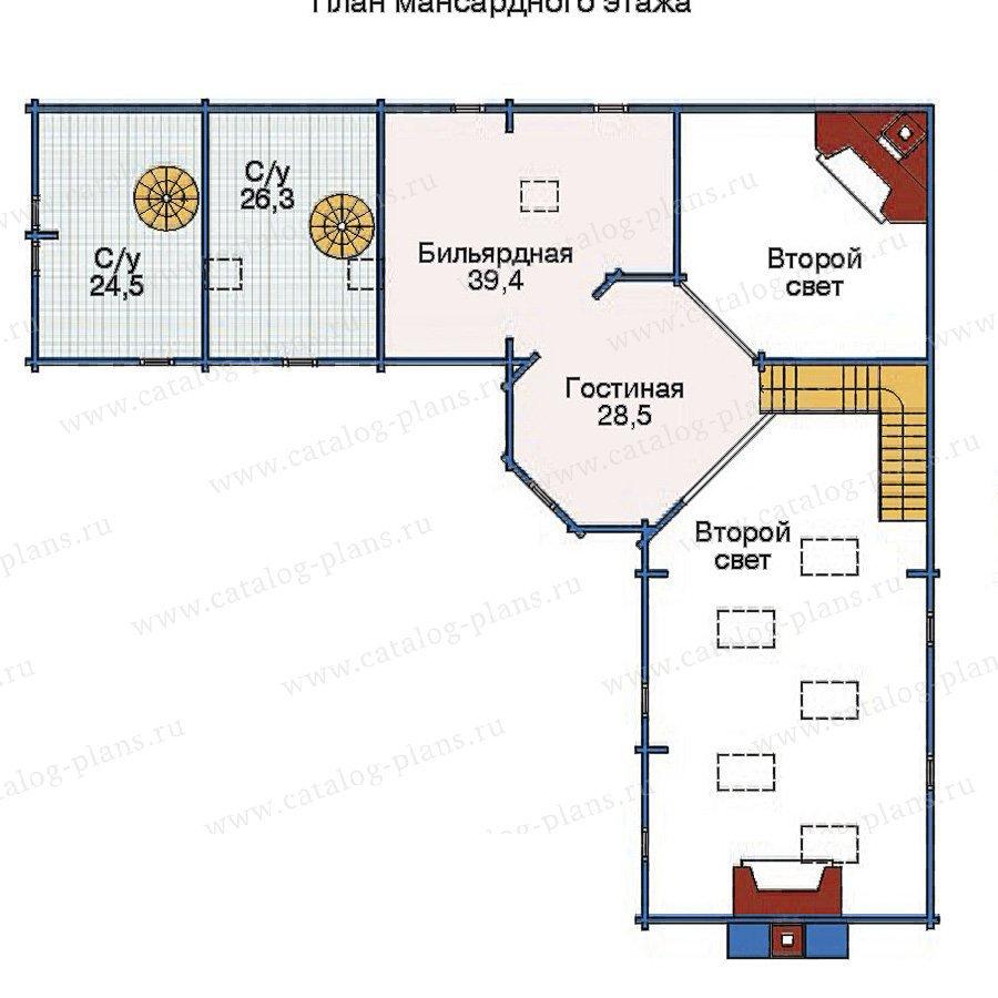 План 2-этажа проекта 11-30