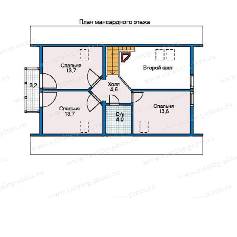 План 2-этажа проекта 11-01