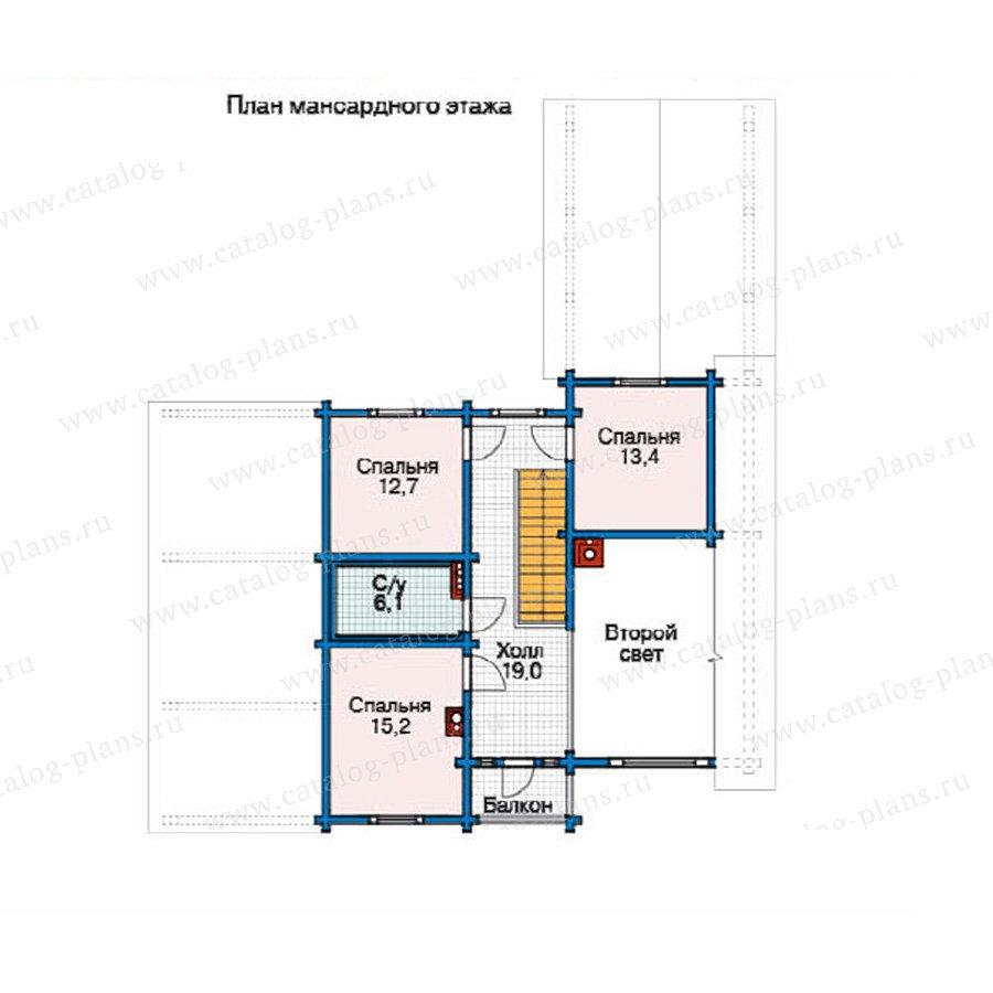 План 2-этажа проекта 11-21