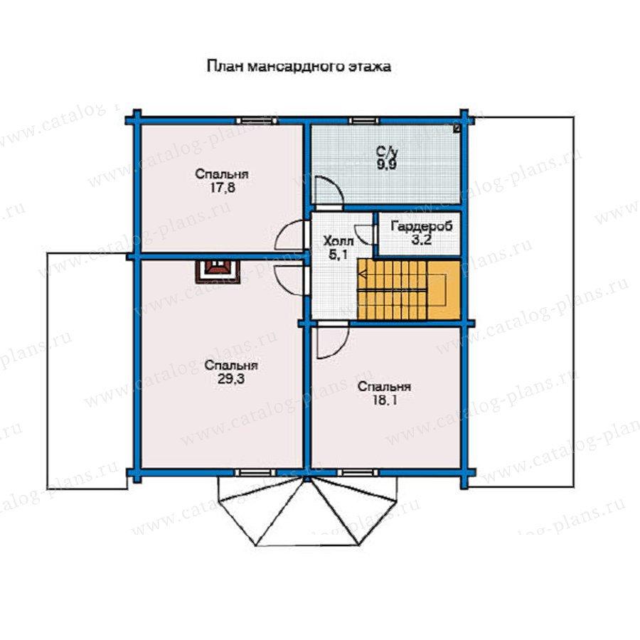 План 2-этажа проекта 11-36