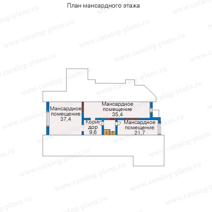 План 4-этажа проекта 52-04