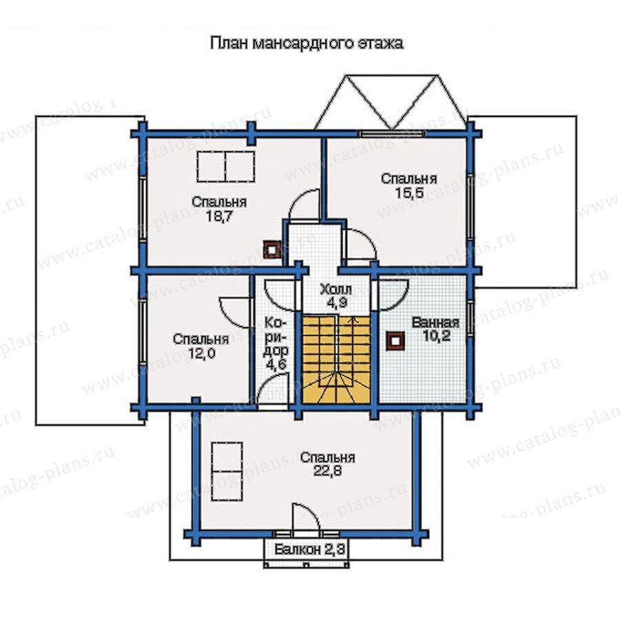 План 2-этажа проекта 11-91