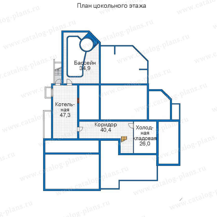 План 1-этажа проекта 52-04
